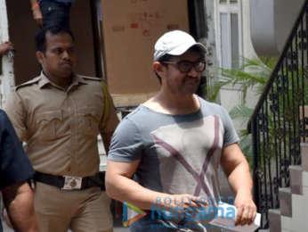 Aamir Khan spotted in Bandra