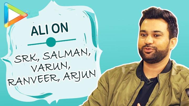Ali Abbas Zafar on film with SRKSports film with Salman KhanAmar Akbar Anthony