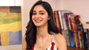 "Ananya Panday ""Kartik Aaryan-FUNNY, SRK- Second Dad, Sara Ali Khan- WITTY"" Rapid Fire"