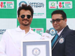 Anil Kapoor receives Guinness World Record certificate on behalf of Ariel India