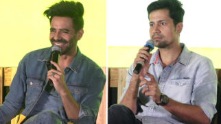 Aparshakti Khurana & Sumeet Vyas attend Panel Discussion for Edutainment Show