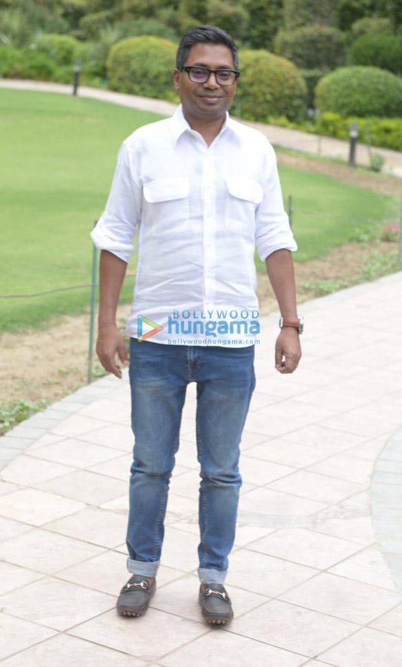 Arjun Kapoor & director Raj Kumar Gupta snapped during India's Most Wanted promotions in Delhi (6)