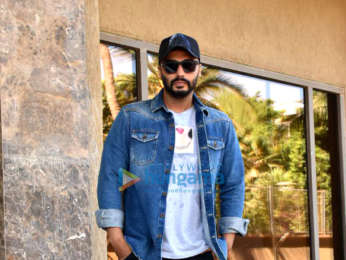 Arjun Kapoor snapped during media interactions for his film India's Most Wanted (3)