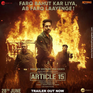 First Look Of The Movie Article 15