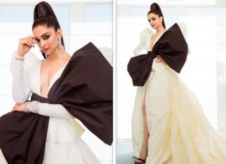 Cannes 2019 Day 1: Deepika Padukone is a SMOKESTORM in black and white Dundas couture at the French Rivera