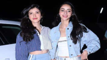 FLASHBACK Ananya Panday and Shanaya Kapoor look super cute, decked up as little dolls in this throwback video