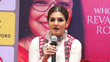 FULL Raveena Tandon attend Launch of Infinity books as chief guest