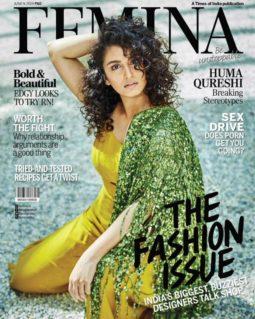 Huma Qureshi On The Covers Of Femina