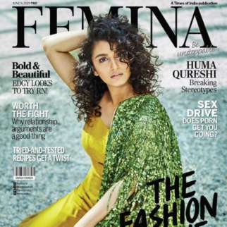 Huma Qureshi On The Covers Of Femina