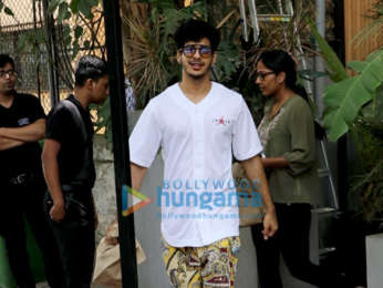 Ishaan Khatter spotted at Kitchen Garden in Juhu