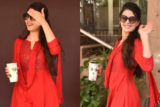 Jacqueline Fernandez SPOTTED at Kwan Office, Andheri