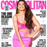Jacqueline Fernandez brings easy - breezy vibe with two stunning Cosmopolitan covers