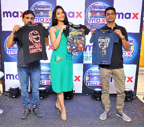KGF actress Srinidhi Shetty relaunches Max store in Bangalore (2)
