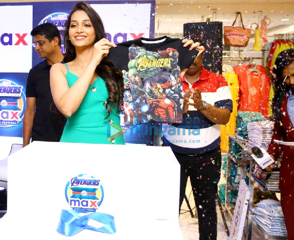 KGF actress Srinidhi Shetty relaunches Max store in Bangalore (4)