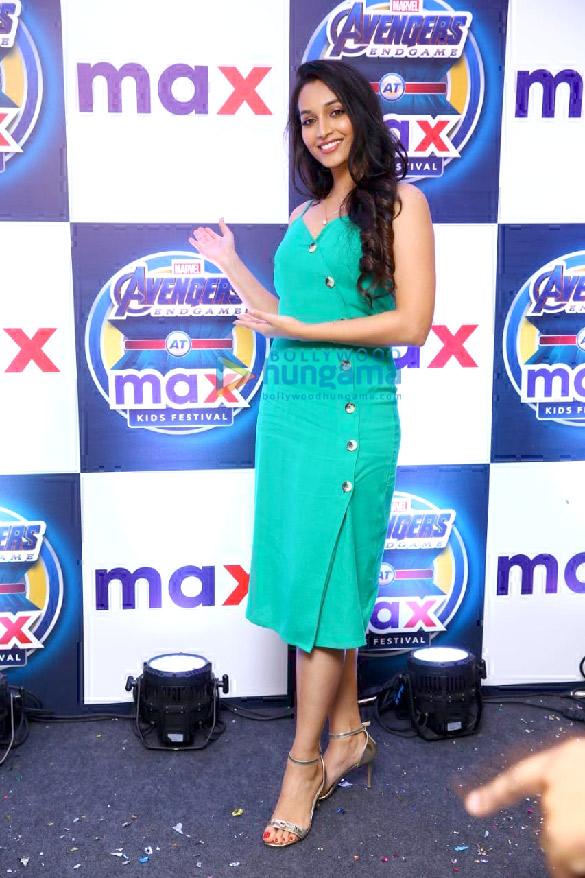 KGF actress Srinidhi Shetty relaunches Max store in Bangalore (6)