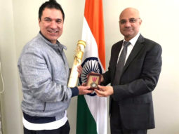 Kader Khan's son collects his father's Padma Shri in Toronto