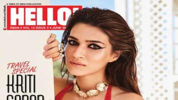 Kriti Sanon On The Cover Of Hello!