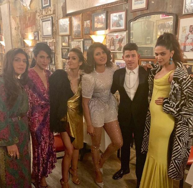 MET Gala 2019: Deepika Padukone hangs out with Priyanka Chopra and Nick Jonas at the after party