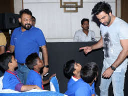 MUST WATCH Ranbir Kapoor spending time with KIDS at launch of Panasonic Campaign #DilSe