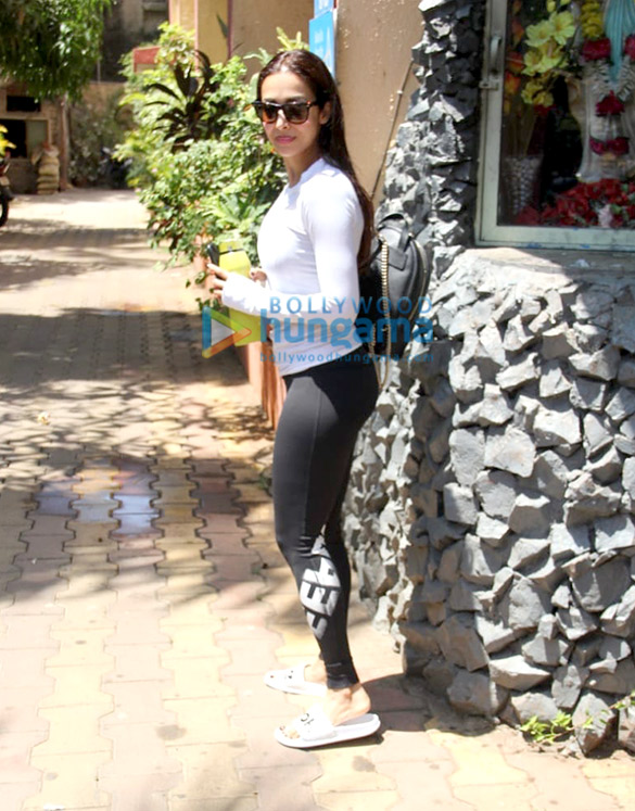 Malaika Arora snapped at Diva Yoga Studio in Bandra
