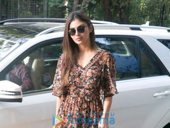 Mouni Roy spotted at Toabh office in Bandra