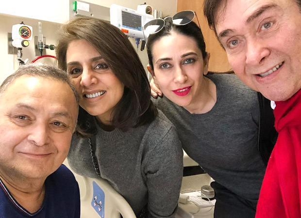 Randhir Kapoor CONFIRMS that Rishi Kapoor is now cancer free and will return to Mumbai