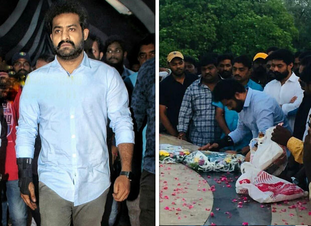 Junior NTR gets emotional as he remembers grandfather NTR on his birth anniversary