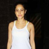 Nushrat Bharucha Spotted at Gym