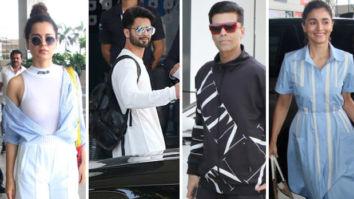 PM Narendra Modi's Oath Ceremony: Kangana Ranaut, Shahid Kapoor, Karan Johar, Alia Bhatt and others head to New Delhi