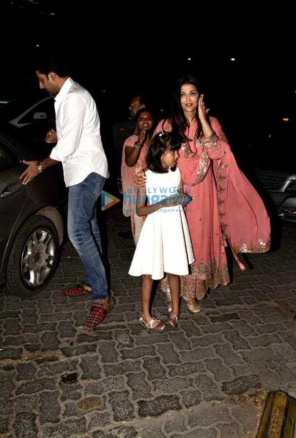 Photos: Abhishek Bachchan and Aishwarya Rai Bachchan spotted at Yauatcha in BKC