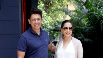 Photos: Madhuri Dixit and Sriram Nene spotted in Bandra
