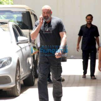 Photos: Sanjay Dutt spotted at Vishesh Films' office