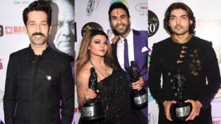 Rakhi Sawant, Nakuul Mehta, Gurmeet Choudhary & others at Dadasaheb Phalke Awards 2019