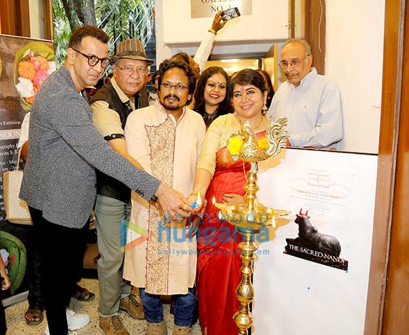 Ronit Roy and Soma Ghosh inaugurate Paramesh Paul's 'The Sacred Nandi'