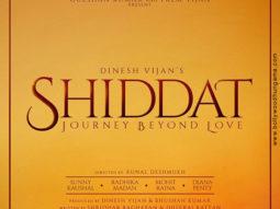 First Look Of Shiddat: Journey Beyond Love