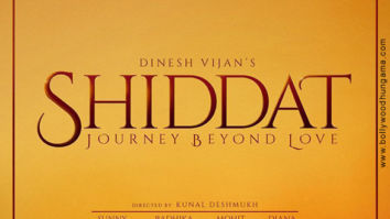 First Look Of Shiddat: Journey Beyond Love