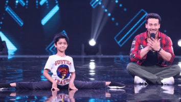 Shilpa Shetty's son Viaan Raj Kundra does cartwheel with his idol Tiger Shroff on Super Dancer Chapter 3