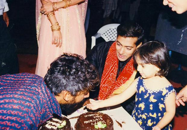 THROWBACK: Salman Khan shares an old photo with Sanjay Leela Bhansali's niece Sharmin Segal after Malaal trailer launch