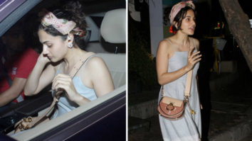 Taapsee Pannu spotted at 4 Bungalows Versova
