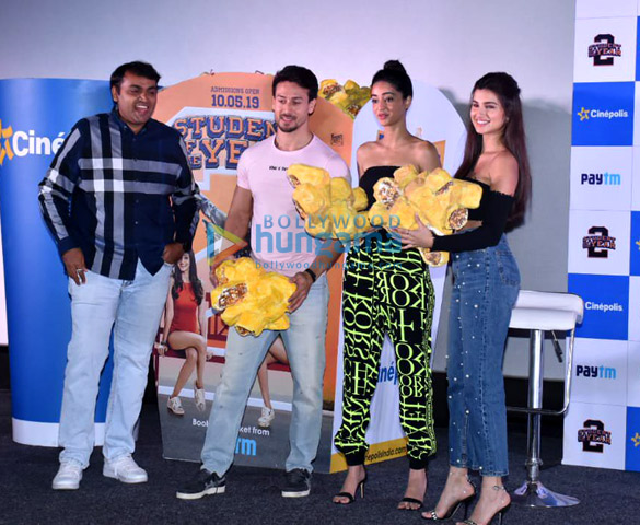 Tara Sutaria, Tiger Shroff and Ananya Pandey snapped at Cinepolis event