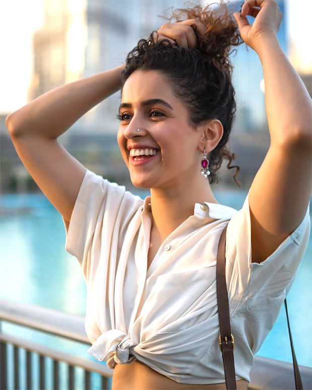 """""""The way he works is very different. It's all very spontaneous"""" - Sanya Malhotra on exhilarating experience while shooting with Anurag Basu"""
