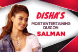 WOW Disha Patani's ROCKING Salman Khan Quiz Proves She's his BIGGEST FAN BHARAT