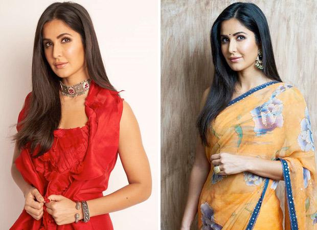 What's Your Pick Katrina Kaif in cherry red Anamika Khanna or tangerine Tarun Tahiliani