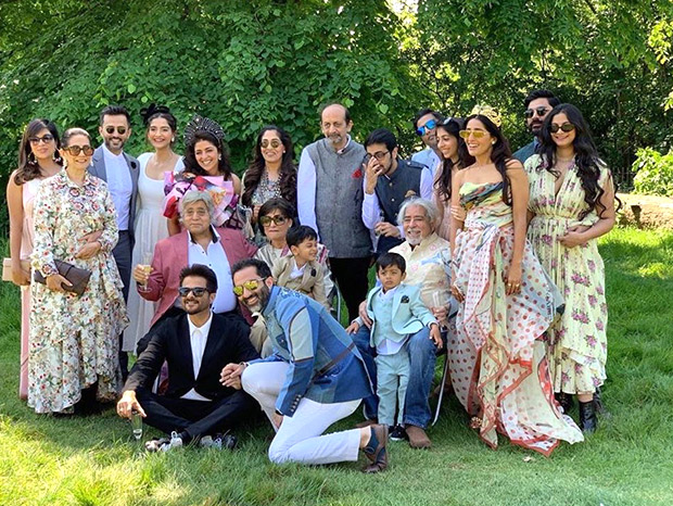 Woah! Sonam Kapoor shares this 'picture-perfect' family portrait of the Kapoors from a dreamy summer wedding in London