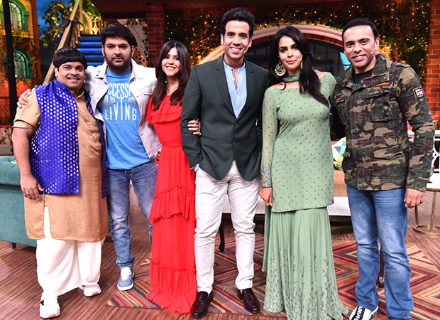 The Kapil Sharma Show: Ekta Kapoor reveals that she called the COPS on Tusshar Kapoor once, here's why!