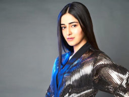 Ananya Panday's metallic outfit is sure you leave you stunned!