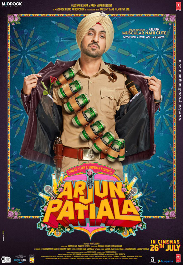 First Look Of Arjun Patiala