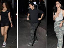 Aryan Khan, Suhana Khan and other star Kids SPOTTED at Farzi Cafe, High Street Phoenix80a94b423250