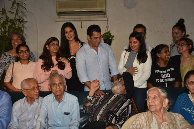 Salman Khan hosted a special screening of Bharat for families that went through the 1947 partition and we have new found respect for him!