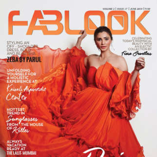 Daisy Shah on the cover of Fablook, Jun 2019
